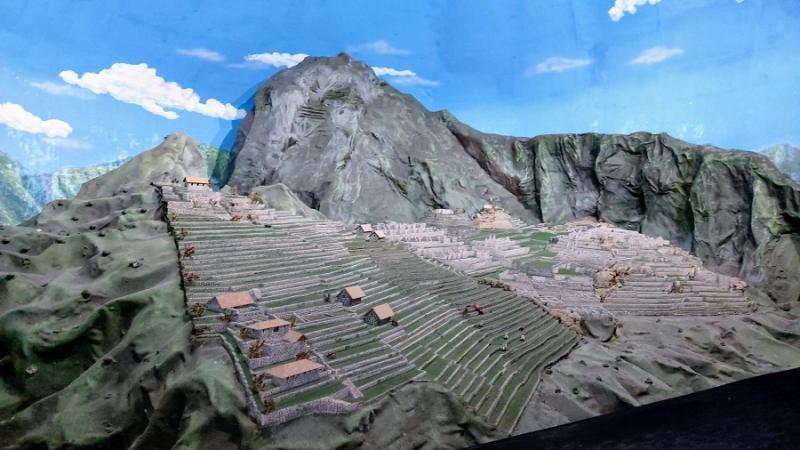 Conoce la maravillosa réplica a escala de Machu Picchu
